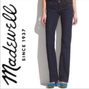 Madewell | Bootlegger Dark Wash Bootcut Jeans
